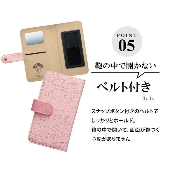 全機種対応 手帳型ケース サンリオ iPhone XS iPhone X ケース  iPhone8 ケース iPhone7 iPhone 6s iPhone SE Xperia Z5 Compact AQUOS ZETA Nexus 6 Galaxy|mobilebatteryampere|07
