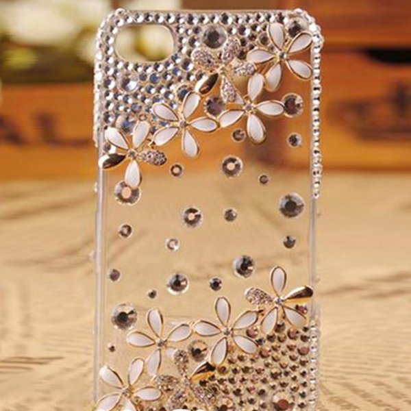 iPhone6s Plusケース iPhoneSE 第1世代 iPhone5s iPhone5cケース デコ キラキラ おしゃれ かわいい ラインストーン  クリア