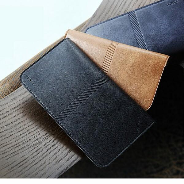全機種対応 Qi対応 携帯 スマホ ケース 手帳型 財布型 iPhone XS Xperia Galaxy カード収納 定期入れ ストラップ付|mobilebatteryampere|15