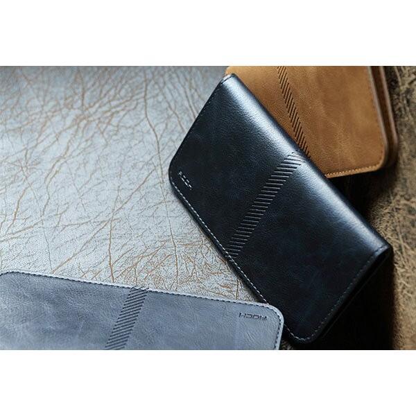 全機種対応 Qi対応 携帯 スマホ ケース 手帳型 財布型 iPhone XS Xperia Galaxy カード収納 定期入れ ストラップ付|mobilebatteryampere|17