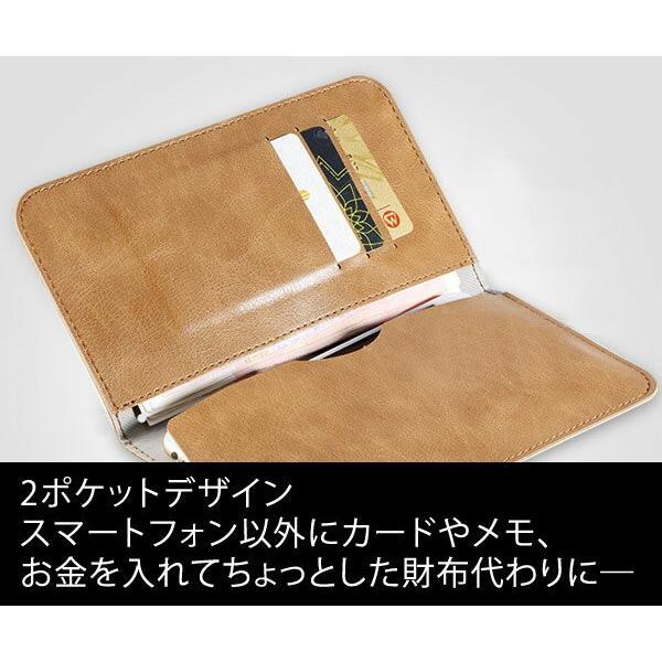 全機種対応 Qi対応 携帯 スマホ ケース 手帳型 財布型 iPhone XS Xperia Galaxy カード収納 定期入れ ストラップ付|mobilebatteryampere|09