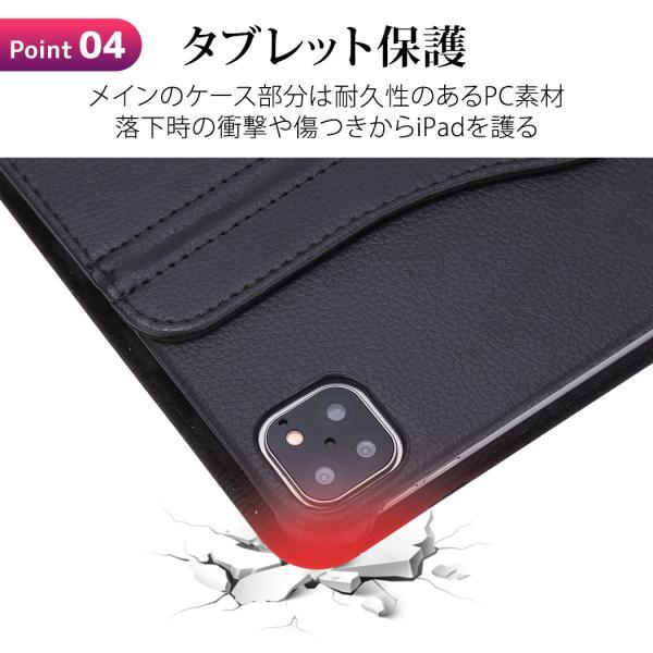 iPad Air 2019 ケース カバー iPad Pro 10.5 インチ 2018 2017 Air2 mini5 mini4  第6世代 レザー 液晶保護フィルム+タッチペン3点セット|mobilebatteryampere|09