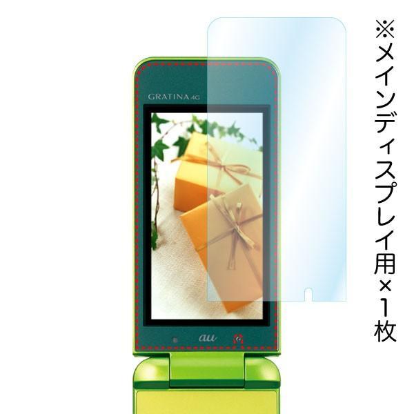 au GRATINA 4G / UQmobile DIGNO Phone AR液晶保護フィルム2 映り込み抑制 高透明度 気泡消失 携帯電話 ASDEC アスデック AR-KYF31|mobilefilm|04