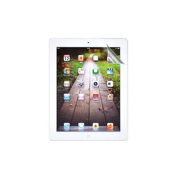 新iPad (第3世代) / iPad 2 ノングレア液晶保護フィルム2 反射防止 防指紋 タブレット ASDEC アスデック ND-IPA03|mobilefilm