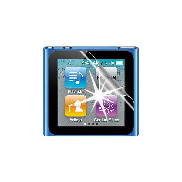 iPod nano 第6世代 (2枚入) ノングレア液晶保護フィルム 反射防止 防指紋 ASDEC アスデック NF-IPD01|mobilefilm