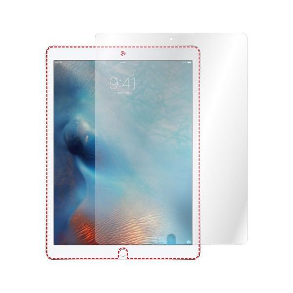 iPad Pro 12.9 インチ (2015年 / 2017年モデル) ノングレア液晶保護フィルム3 防指紋 反射防止 ギラつき防止 気泡消失 タブレット ASDEC アスデック NGB-IPA07|mobilefilm|04