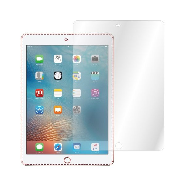 iPad Pro 9.7 / iPad (2018年 第6世代 / 2017年 第5世代) ノングレア液晶保護フィルム3 防指紋 反射防止 ギラつき防止 気泡消失 ASDEC アスデック NGB-IPA08|mobilefilm|04