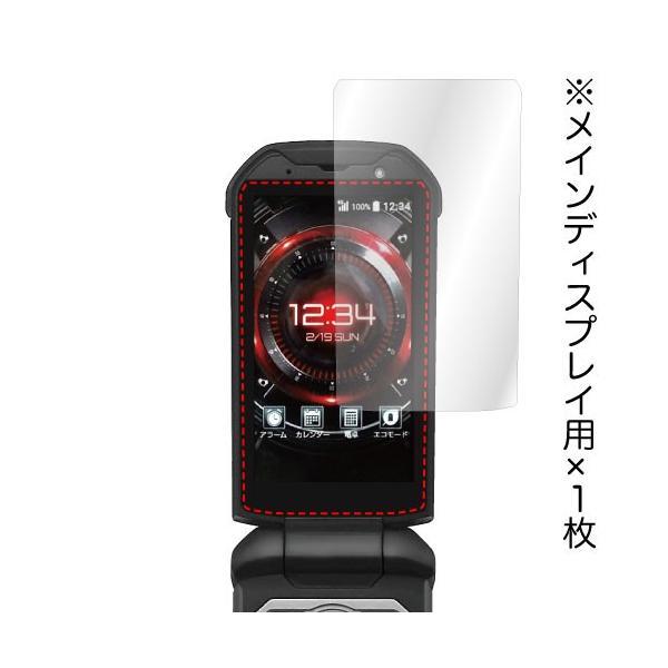 TORQUE X01 用 ノングレア液晶保護フィルム3 防指紋 反射防止 ギラつき防止 気泡消失   ASDEC アスデック NGB-KYF33|mobilefilm|04