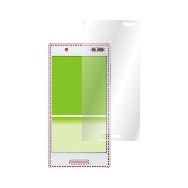 Qua phone QX KYV42 / DIGNO V ノングレア液晶保護フィルム3 防指紋 反射防止 ギラつき防止 気泡消失  ASDEC アスデック NGB-KYV42|mobilefilm|04
