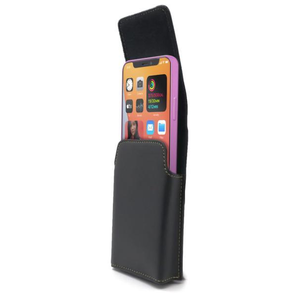 iPhone 12 mini 用 5.4インチ 選べる2タイプ 回転式ベルトクリップ付カバー ケース ホルダー ASDEC アスデック SH-IP18PH SH-IP18PV mobilefilm 11