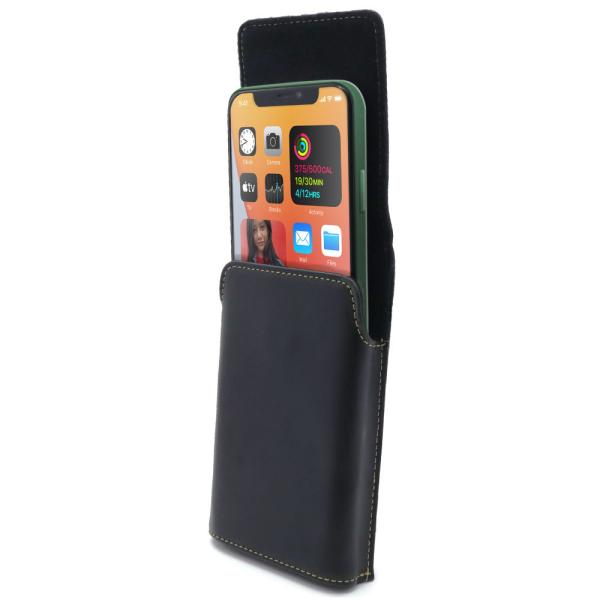 iPhone 12 Pro Max 用 6.7インチ 選べる2タイプ 回転式ベルトクリップ付カバー ケース ホルダー ASDEC アスデック SH-IP20PH SH-IP20PV|mobilefilm|11