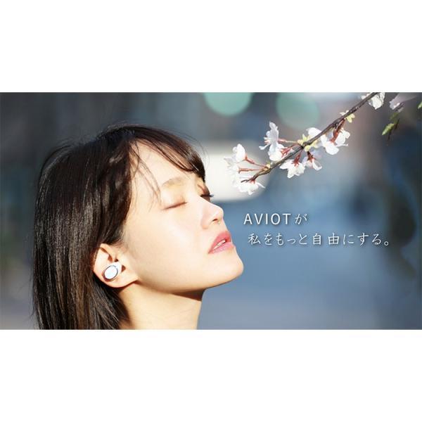 ワイヤレスイヤホン bluetooth イヤホン スマホ iphone android 対応 重低音 aac aptx AVIOT(アビオット) TE-D01e (メーカー1年保証)|mobileselect|02