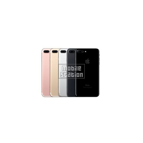 iPhone7 Plus 32GB ブラック (MNR92J/A) SIMフリーの画像