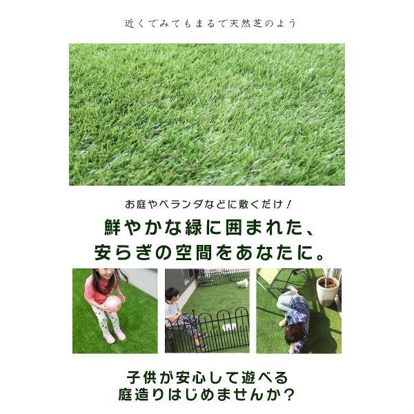 防炎リアル人工芝 [U字ピン20本入] 1m×10m 芝丈36mm [彩-IRODORI-] UV ロールタイプ人工芝 綺麗 高密度 高級 芝|mobimax2|19