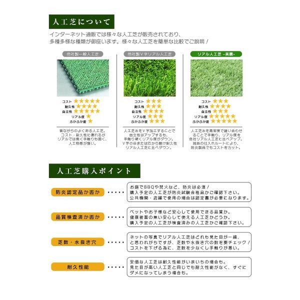 人工芝 ロール 1m×5m 芝丈30mm 高密度最高級品質 防炎・UVカット・耐久 リアル人工芝 庭 緑化 綺麗 高密度 高級 芝  [ 美麗 BIREI ]|mobimax2|21