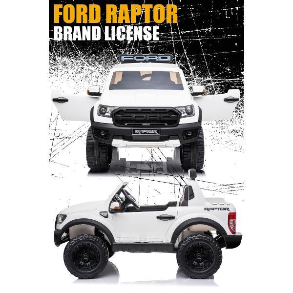 乗用玩具 乗用ラジコン FORD RAPTOR フォード ラプター 二人乗り可能 Wモーター 乗用ラジコンカー 電動乗用玩具  [ラジコン フォード ラプター] mobimax2 03