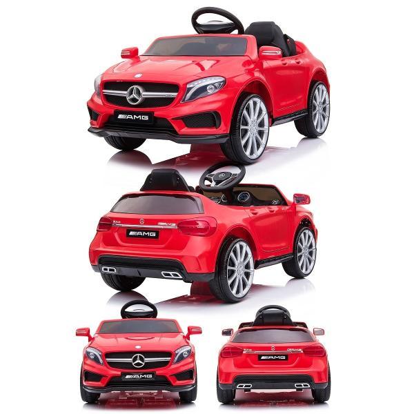 乗用玩具 乗用ラジコン BENZ GLA45 AMG ベンツ ライセンス ペダルとプロポで操作可能な電動ラジコンカー 電動乗用玩具 乗用ラジコンカー|mobimax2|17