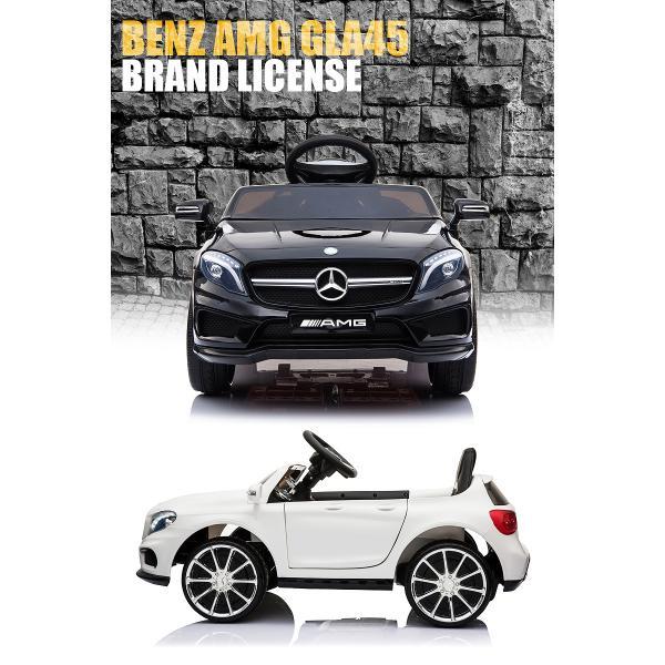 乗用玩具 乗用ラジコン BENZ GLA45 AMG ベンツ ライセンス ペダルとプロポで操作可能な電動ラジコンカー 電動乗用玩具 乗用ラジコンカー|mobimax2|04