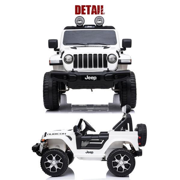 乗用玩具 乗用ラジコン JEEP ラングラー ルビコン ジープ正規ライセンス ペダルとプロポで操作可能な電動ラジコンカー 乗用ラジコンカー 電動乗用玩具|mobimax2|15