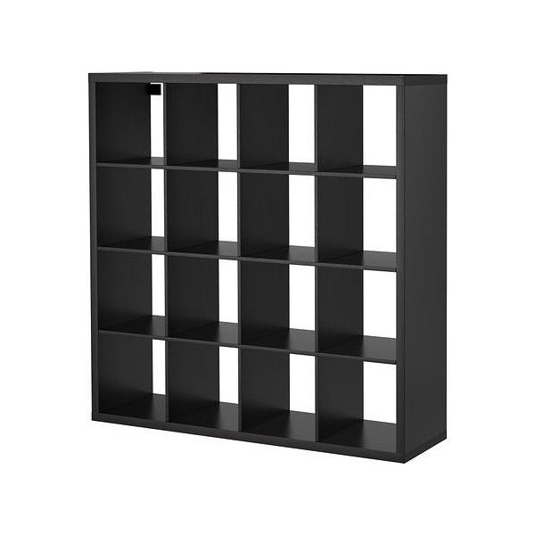 イケア IKEA 棚 書棚 本棚 家具 KALLAX (カラックス)  シェルフユニット, ブラックブラウン(103.518.89)
