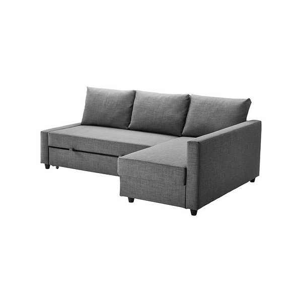 IKEA・イケア ソファ ソファベッド コーナーソファベッドFRIHETEN スキフテボー ダークグレー (092.167.55)