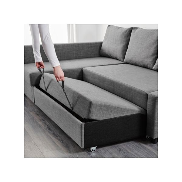IKEA・イケア ソファ ソファベッド コーナーソファベッドFRIHETEN ...