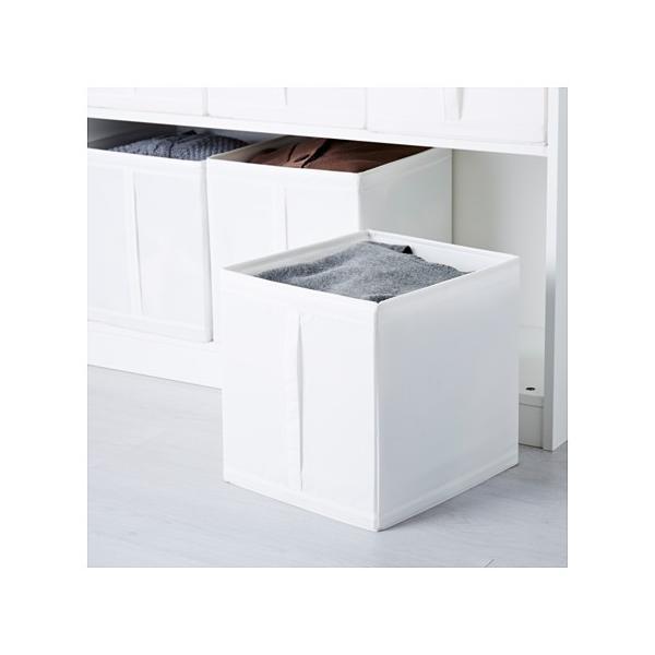 IKEA・イケア 衣類収納・収納ボックス SKUBB(スクッブ) ボックス, ホワイト/3ピース (101.863.90) moblife 03