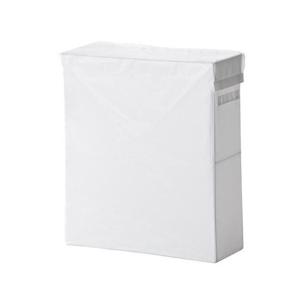 IKEA 衣類収納 SKUBB(スクッブ) ランドリーバッグ スタンド付き, ホワイト (102.240.47)|moblife