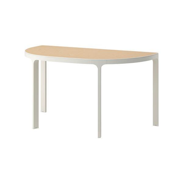 IKEA・イケア パソコンデスク・机 BEKANT会議用テーブル, バーチ材突き板, ホワイト(190.474.65)