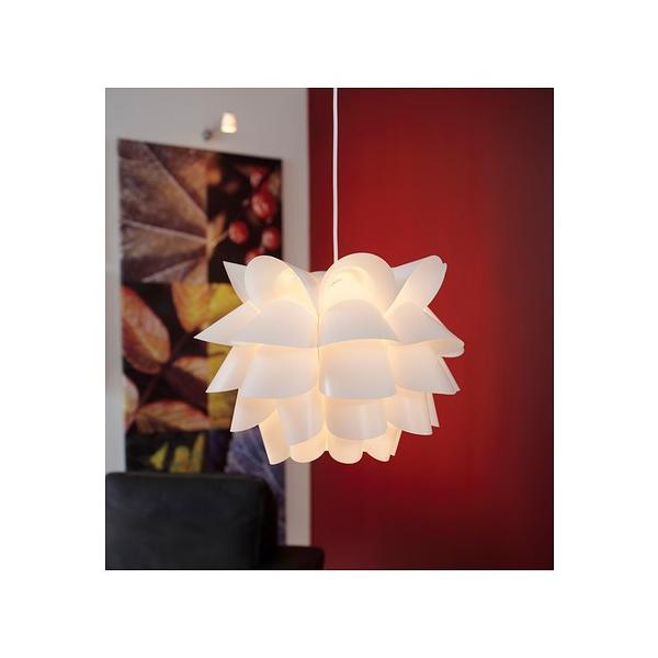 IKEA・イケア 天井照明・シーリングライト 照明・ランプ KNAPPAペンダントランプ, ホワイト(200.767.96)