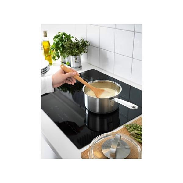 IKEA・イケア IKEA 365+ 片手鍋 ふた付き, ステンレススチール, ガラス (302.567.49)|moblife|02