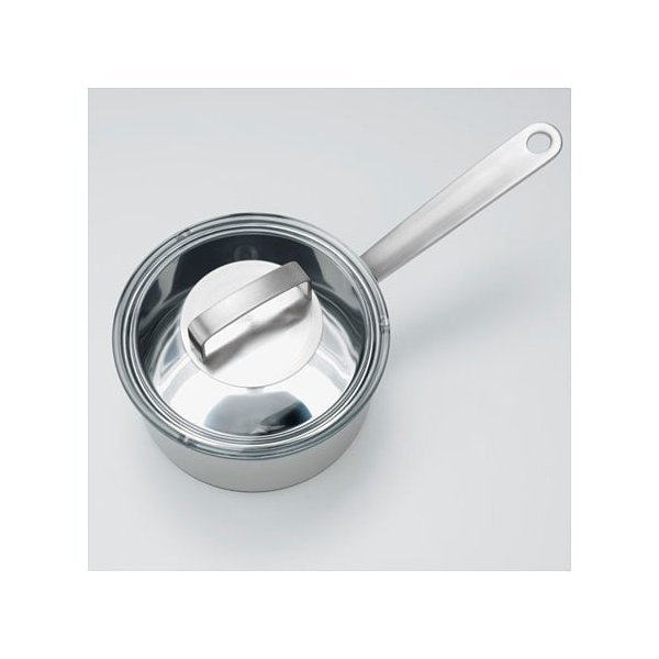 IKEA・イケア IKEA 365+ 片手鍋 ふた付き, ステンレススチール, ガラス (302.567.49)|moblife|04