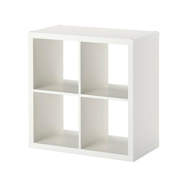 RoomClip商品情報 - IKEA・イケア 書棚・本棚 KALLAX (カラックス)   シェルフユニット, ホワイト, 77x77 cm (703.518.86)