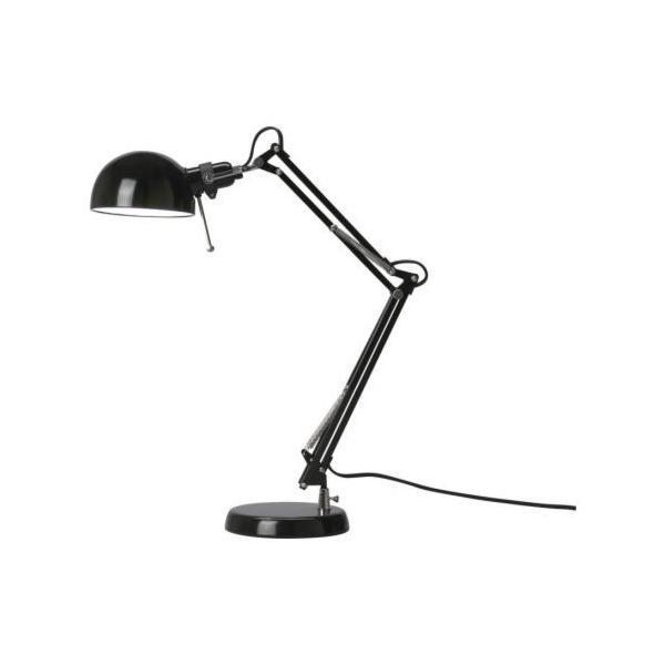 IKEA・イケア 卓上スタンド 照明・ランプ FORSA ワークランプ, ブラック (401.467.84)の写真