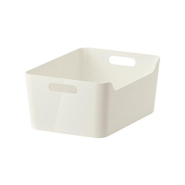 RoomClip商品情報 - IKEA・イケア キッチン・キッチン収納 VARIERA ボックス, ハイグロス ホワイト, 34x24 cm (501.772.56)