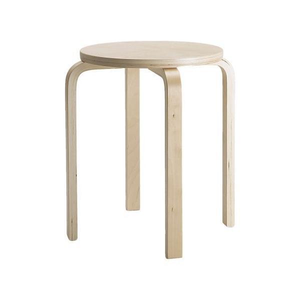 IKEA イケア 椅子 イス FROSTA スツール バーチ材合板 ( 601.623.01 )