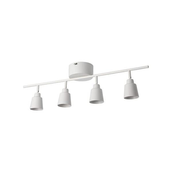 RoomClip商品情報 - IKEA・イケア KNUTBO クヌートボー シーリングスポットライト 4スポット, ホワイト (703.128.90)