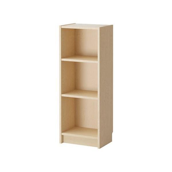IKEA・イケア 書棚・本棚 BILLY (ビリー)  書棚, バーチ材突き板, 40x28x106 cm (802.797.91)|moblife