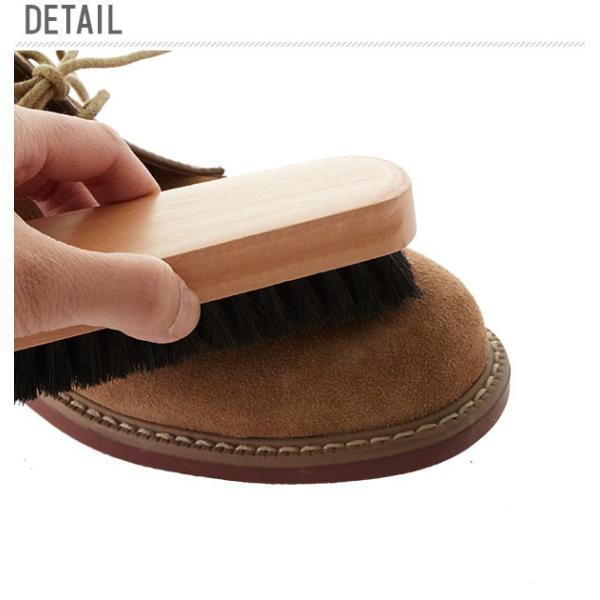 靴ブラシ 14cm 通販 M29 ミドルブラシ  豚毛ブラシ 靴用ブラシ 靴磨き ブラッシング 汚れ落とし シューケア 中型ブラシ 皮革製品 靴 シューズ 鞄 バッグ