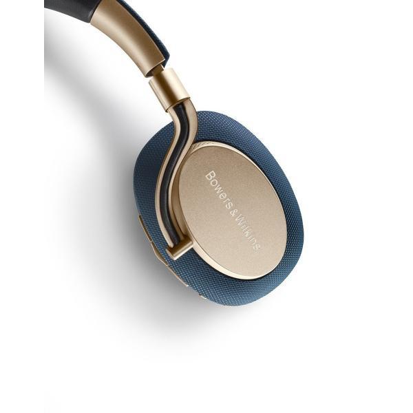 Bowers & Wilkins PX ワイヤレスノイズキャンセリングヘッドホン Bluetooth/aptX HD/AAC対応 ソフトゴールド PX/G|mocotto|04