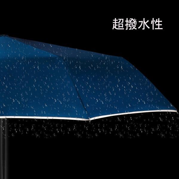 KIZAWA 安全式 折りたたみ傘 ワンタッチ自動開閉 メンズ レディース 撥水加工 高強度グラスファイバー 超軽量 365g 大きい 116cm 8本骨 耐強風 晴雨兼用 収納ポ|mocotto|04