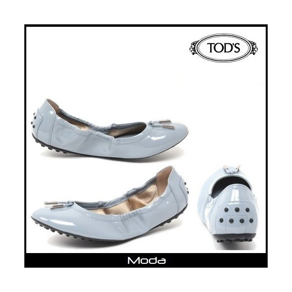 TOD'Sトッズ  アズール-DEE バレリーナ