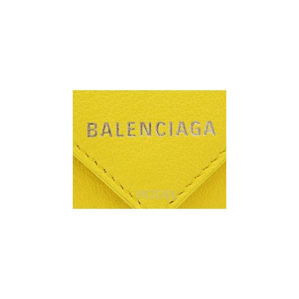 brand new 343c8 bed8c バレンシアガ BALENCIAGA 財布 ペーパー ミニウォレット 三 ...