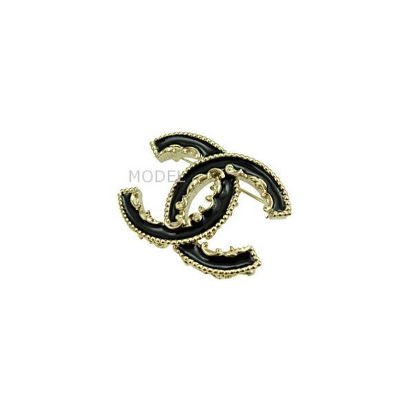 255074b79b83 シャネル CHANEL ブローチ アクセサリー レディース 人気 黒/ブラック A61457