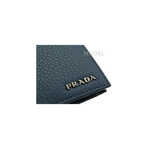 san francisco d954e 2898f プラダ PRADA 財布 メンズ 財布 二つ折り 青/ブルー ...