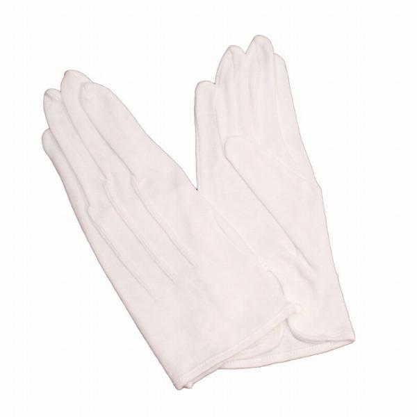 白手袋正礼装モーニング用結婚式父親フォーマルマーチングバンド男性用綿100%ita
