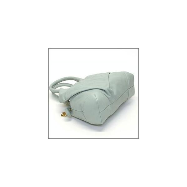 ヴィヴィアン ウエストウッド  カウレザー ハンドバッグ POCKET YASMINE 6585 224 SKY  z1511-bbvv00034u