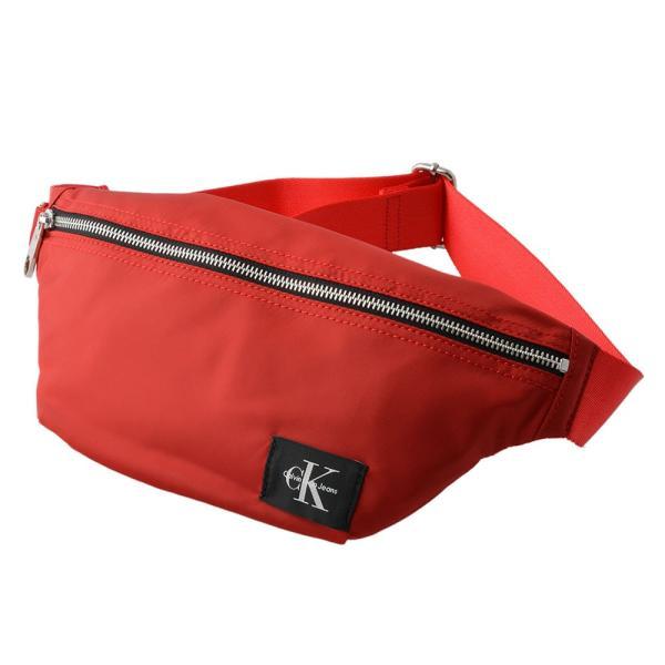 ≪GWセール≫カルバン クライン ジーンズ Calvin Klein Jeans 75554-RED ボディバッグ ウエストバッグ ベルトバッグ NYLON ZIPPE z2678-bbck00006m