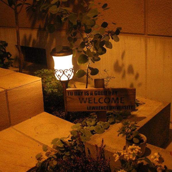 ソーラーライト レトロランプ 2個セット/ソーラーライト ガーデンライト ポールライト アンティーク|modest|04