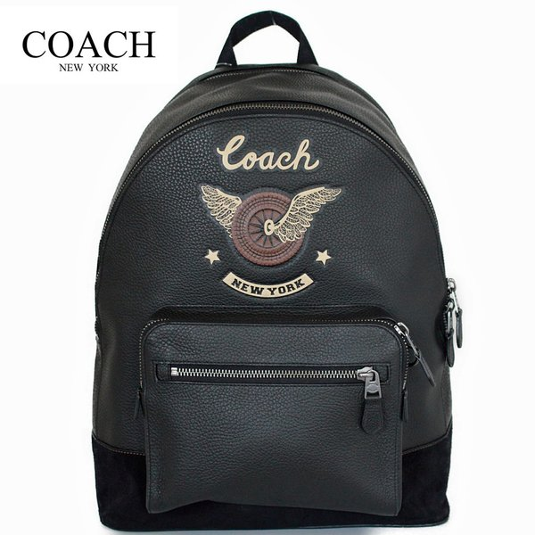10ff71637e57 コーチ メンズ バッグ リュック バックパック イージーライダーモチーフCOACH WEST BACKPACK WITH EASY RIDER  MOTIF